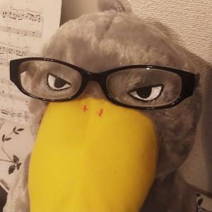 ついに老眼鏡の度数が…(ーー;)