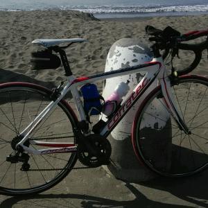 ロードバイクで大観山へ