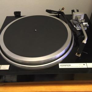 【散財】古の銘器 KENWOOD KP-1100を導入!アナログプレーヤー初心者がレコード再生に挑む。購入経緯・機器紹介編