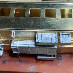 Fuji Model オロ42を作る 床下の作成 その①