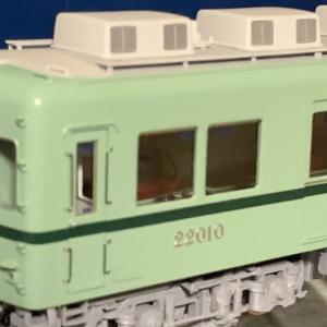 U-Train 南海22001系 色が合わない。。