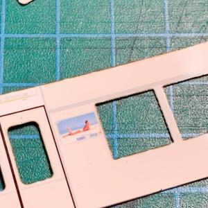 U-Train製 南海22001系の作成 その⑧ 内装の制作