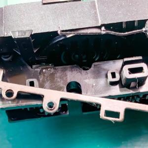 天賞堂 ダイキャスト製 EF58の簡易イコライジング改造