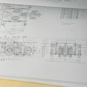 Fuji Model製 マロネ40 台車、端梁周りの作成