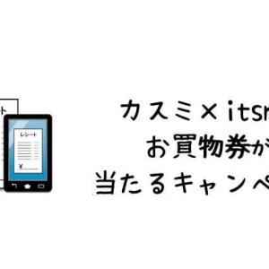 カスミ×itsmon共同キャンペーン。レシート応募で100円お買い物券が当たる