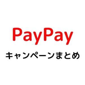 PayPay(ペイペイ)還元額とキャンペーンまとめ。高キャッシュバックキャンペーンが見逃せない