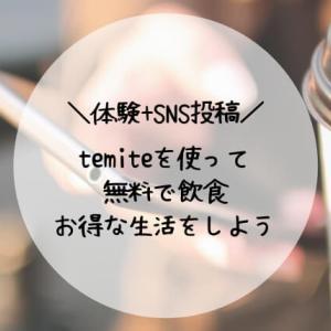 temite(テミテ)体験+SNS投稿がお金になる。セブンペイメントサービス利用体験談。