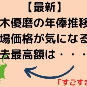 【最新】鈴木優磨(すずきゆうま)の年俸推移と市場価格が気になる!過去最高額は?