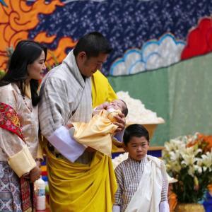 プータン第二王子様のお名前が決まりました!