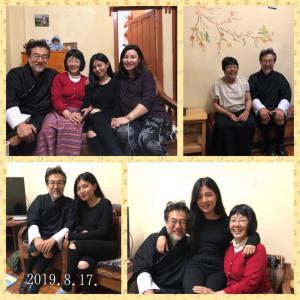 9日目     ブータ家族と団欒