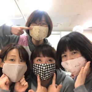 *手作りマスク*