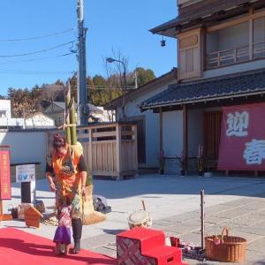 笠間稲荷神社の新年のお参り