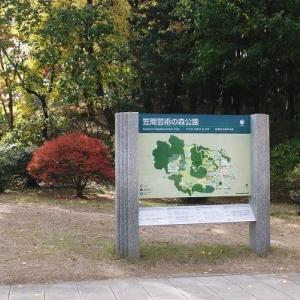 笠間芸術の森公園の紅葉