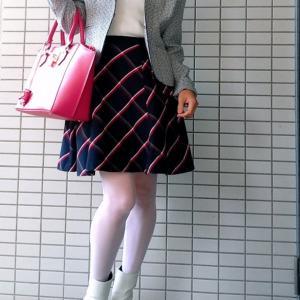 白ブーツのコーデ☆これだけでおしゃれ上級者!?冬から春まで履ける!【コンサバ系】
