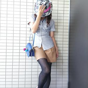 ママ友に『カワイイ!』と褒められたママコーデ☆コンサバ系好きが着る運動会のきれいめカジュアル