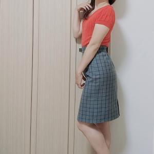 サマーニットは暑い!?だったら今着るのがイイ☆夏服着回しで良い女風?お姉さん系きれいめ秋コーデ