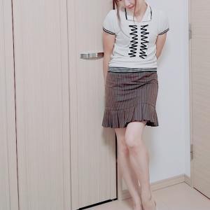 大人の着こなし☆上品に秋のミニタイトスカートコーデ