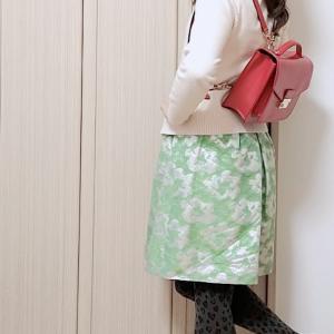 ショップ店員に褒められたワンピ☆ドレッシーなワンピースをカジュアルに着こなし