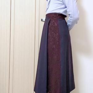 カールパークレーンのロングスカートでエレガントなコンサバママコーデ