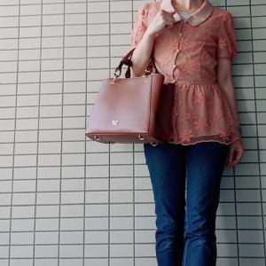 【コンサバ系ママコーデ】フェミニンコンサバなデニムファッション