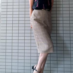 低身長のミモレ丈コーディネート☆バランス良く着こなすポイント