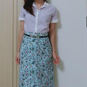 家にいる日のコンサバファッション☆カッチリ過ぎないシャツコーデ