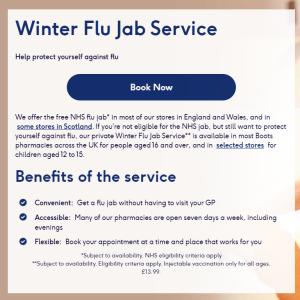 Flu vaccination ~YMS編