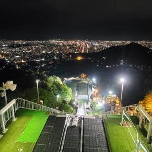 夜景もすごい!@大倉山展望台
