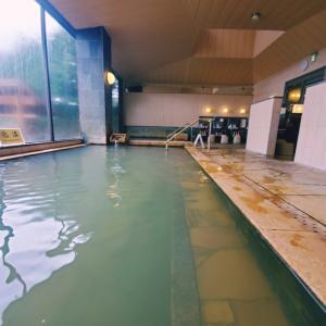 支笏湖で温泉♨丸駒温泉