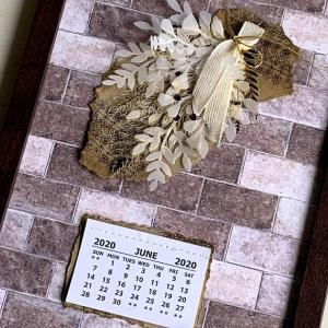 6月のカレンダーカード