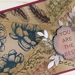 ウェラード里美さんへのカード