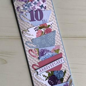 【あん's Cafeさん】10周年祝いのカード