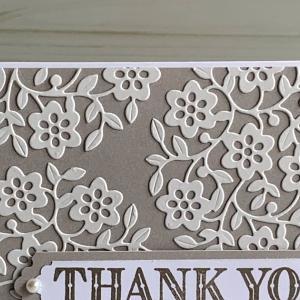 お礼のカード