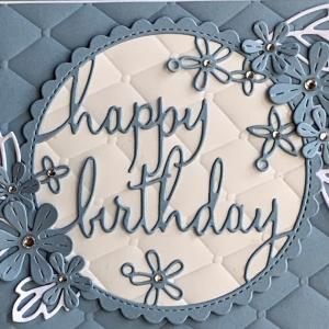 叔母への誕生日カード