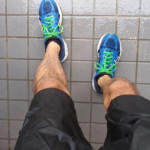 暴風雨ラン!人類がマラソンで二時間切りすげー 連続ラン挑戦357日目