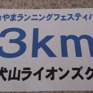 目標達成ならず【犬山ランフェス】 連続ラン挑戦114日目