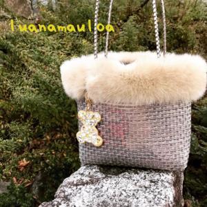 モフモフ冬仕様なジュエリーバッグ