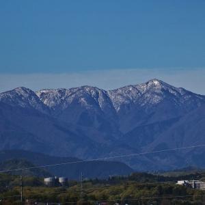 残雪の丹沢蛭ヶ岳