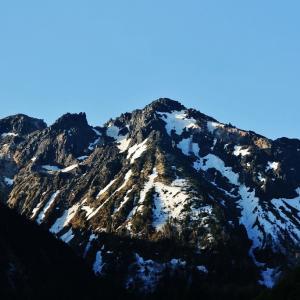 焼岳より望む北アルプスの山々