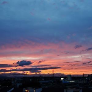 梅雨時の夕焼けⅡ