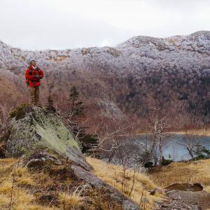 初冬の奥白根山 麓の紅葉