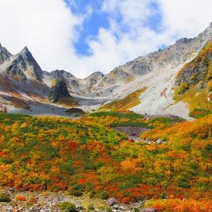 秋の穂高を訪ねて