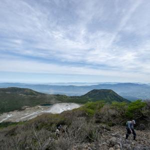 2019.05.03 南九州ぶらぶら。 2日目は韓国岳を登りましたよ!