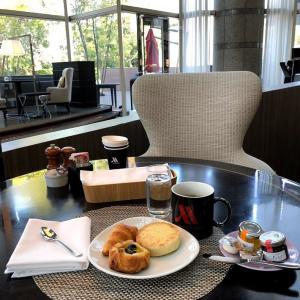 マリオットホテルのラウンジ 朝食は?