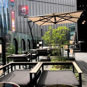 ザ・ゲートホテル東京 byヒューリック 銀座のラウンジカフェのレビュー