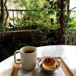 WHITE GLASS COFFEE 渋谷で貴重! 緑あふれるテラス席があるカフェ