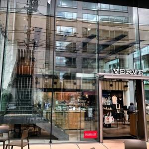 VERVE COFFEE 六本木店 ガラス張りの解放感あるカフェ