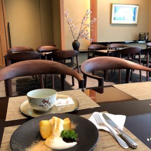 キタノホテルのラウンジ 佳風 和風の雰囲気の落ち着くカフェ