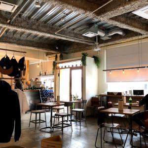 【代々木公園カフェ】almond hostel&cafe ホステル併設のカフェ