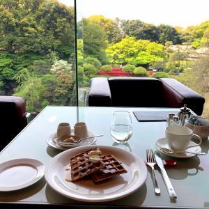 【ホテルのラウンジ】ニューオータニ ガーデンラウンジは庭園を一望できるカフェ